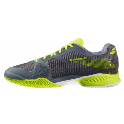 Buty tenisowe Babolat JET AC szaro-żółte