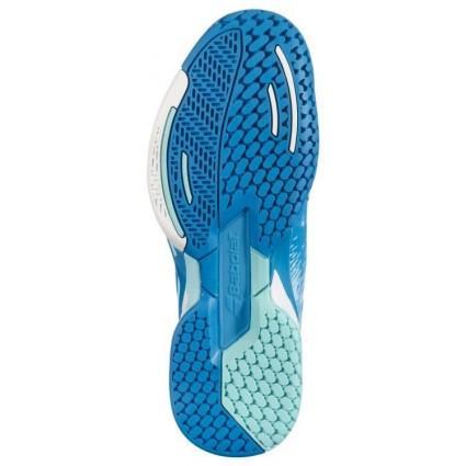 Buty tenisowe Babolat Propulse AC nieb.-czerwone