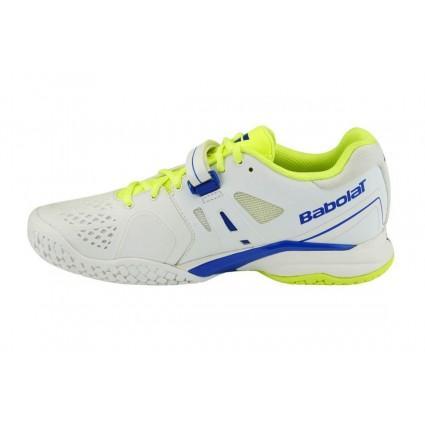 Buty tenisowe Babolat Propulse AC biało-żółte