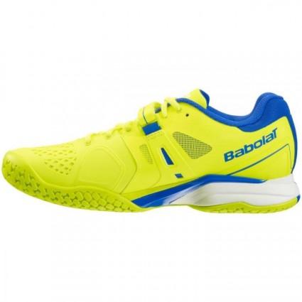 Buty tenisowe Babolat Propulse AC żółto-niebieski