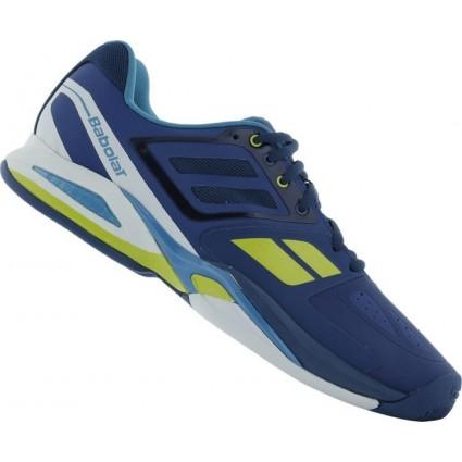 Buty tenisowe Babolat Propulse Team AC niebieski