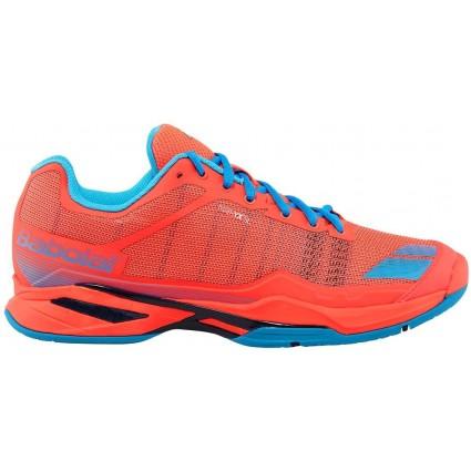 Buty tenisowe Babolat JET TEAM Clay fluo-czerwone