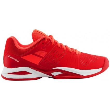 Buty tenisowe Babolat Propulse TEAM AC czerwone