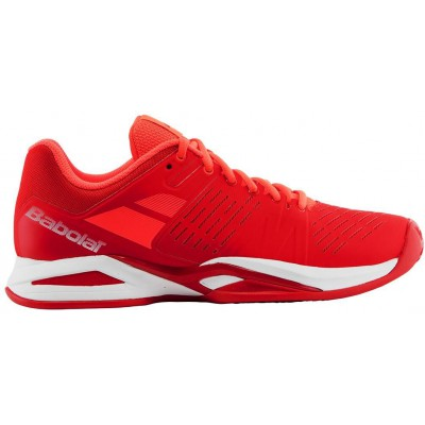 Buty tenisowe Babolat Propulse TEAM Clay czerwone