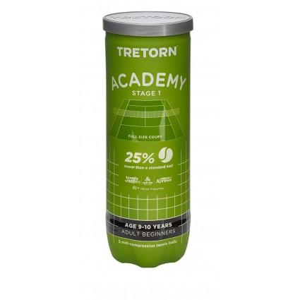 Piłki ST1 Tretorn ACADEMY GREEN (3 szt.)