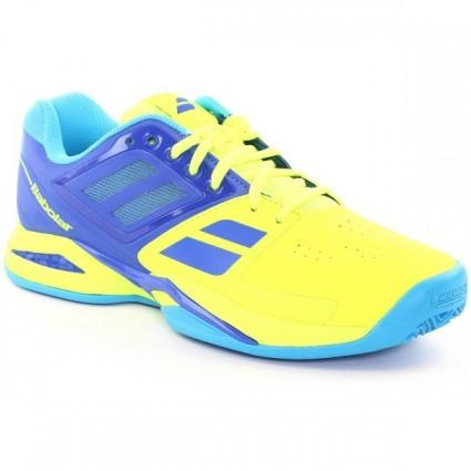 Buty tenisowe Babolat Propulse Team Clay żołte