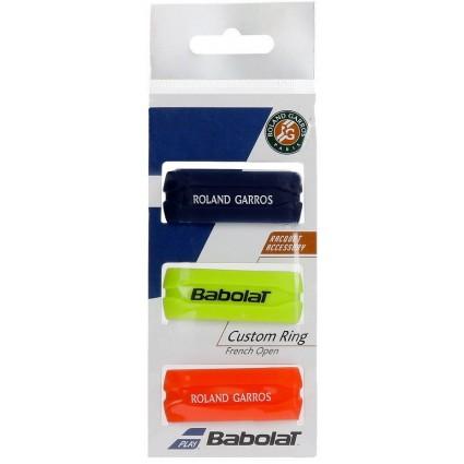 Gumki na owijkę Babolat Custom Ring RG/FO x3