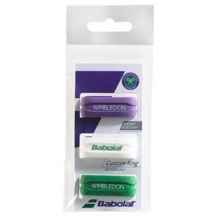 Gumki na owijkę Babolat Custom Ring Wimbledon x3