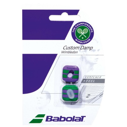 Wibrastop Babolat Custom Damp Wimbledon x2