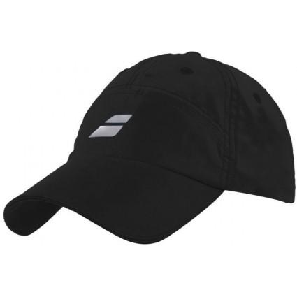 Czapka tenisowa Babolat z mikrofiby  - czarna