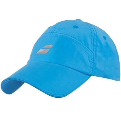 Czapka tenisowa Babolat z mikrofiby  - niebieska