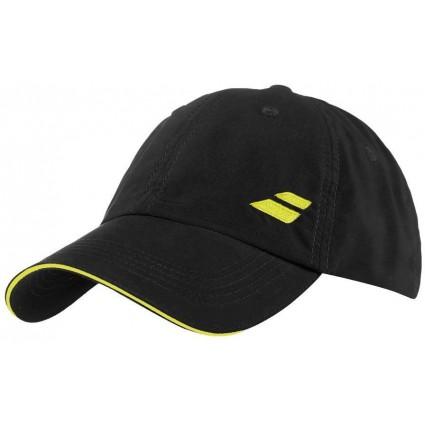 Czapka tenisowa z logo Babolat - czarna