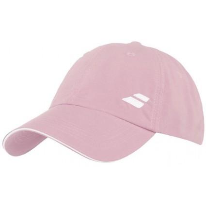 Czapka tenisowa z logo Babolat - różowa