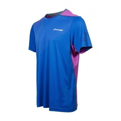 T-shirt Babolat Perf FW 2017 - niebieski