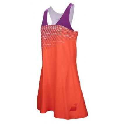 Sukienka Racerback Babolat PERF 2017 - czerwona