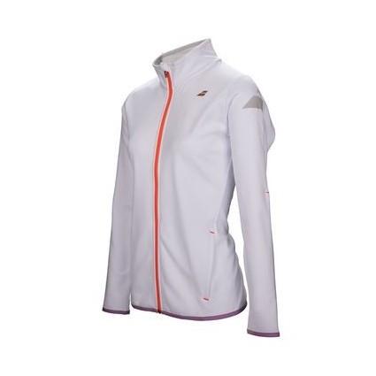 Bluza dresowa Babolat PERF 2017 - biała