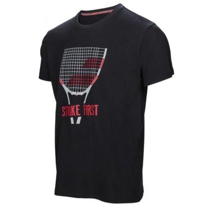 T-shirt z napisem Babolat Boy CORE 2017, czarny