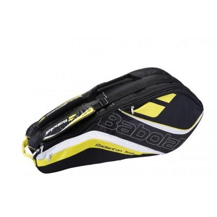 Torba do badmintona Babolat TEAM x8 czarno-żółta