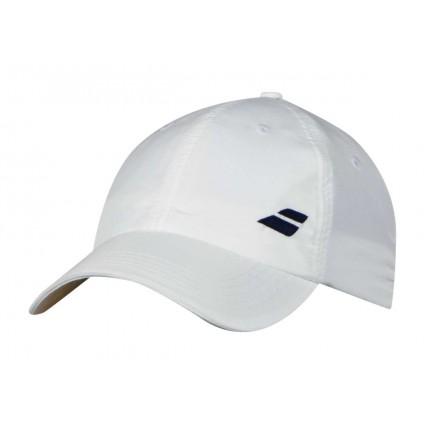 Czapka tenisowa z logo Babolat 2018, biały