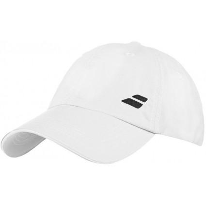 Czapka tenisowa JR z logo Babolat 2018, biały
