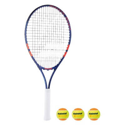 Komplet: Babolat RG/FO Jr25' + 3 piłki Orange