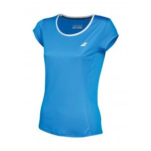 T-shirt Babolat CORE 2018 W, niebieski