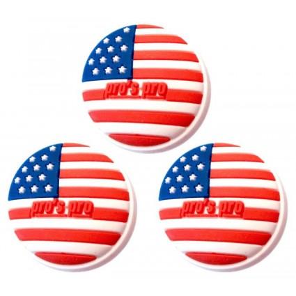 "PP Vibrastop ""USA""x 3"