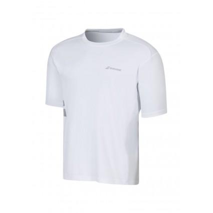 T-shirt Babolat Core 2016 - biały