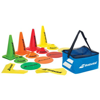 Zestaw stożków, linii i celów Babolat Training Kit