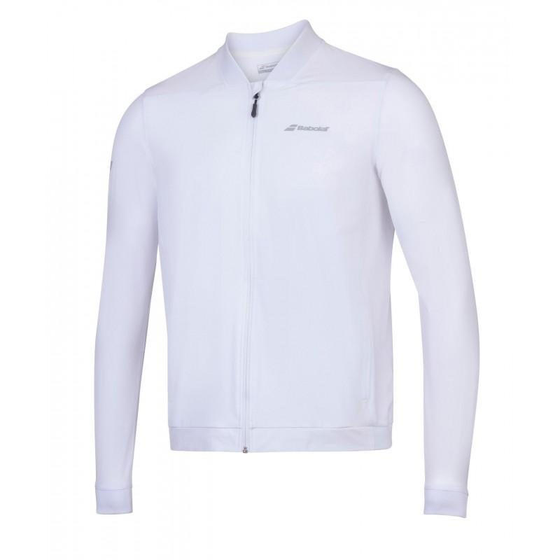 Bluza dresowa Babolat PLAY Junior, biały