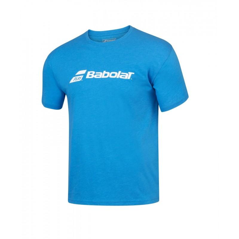 T-shirt Babolat EXERCISE Boy, niebieski