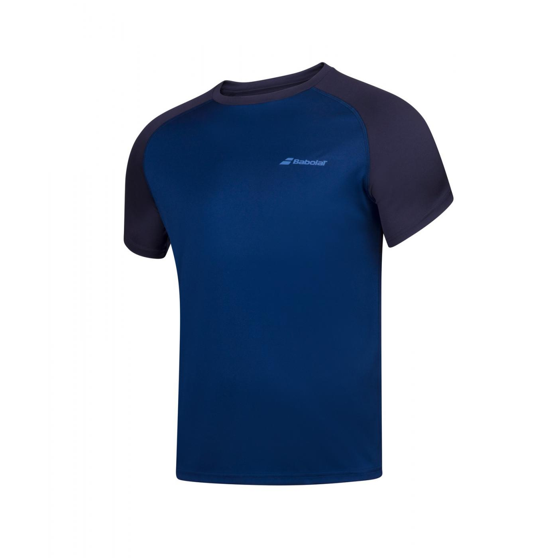 T-shirt Babolat PLAY Boy, granatowy