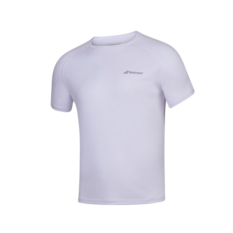 T-shirt Babolat PLAY Boy, biały