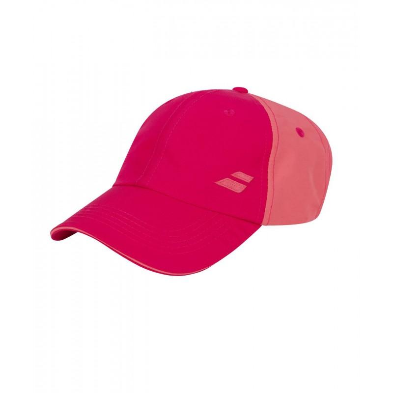 Czapka Babolat BASIC LOGO, różowy