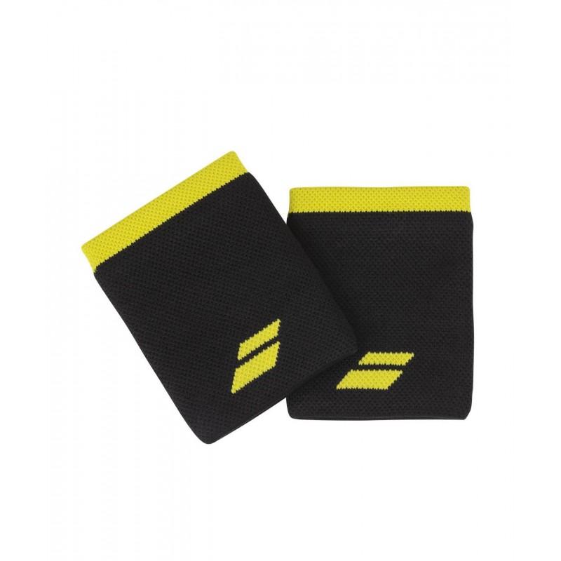 Frotki Babolat LOGO JUMBO, czarno-żółty