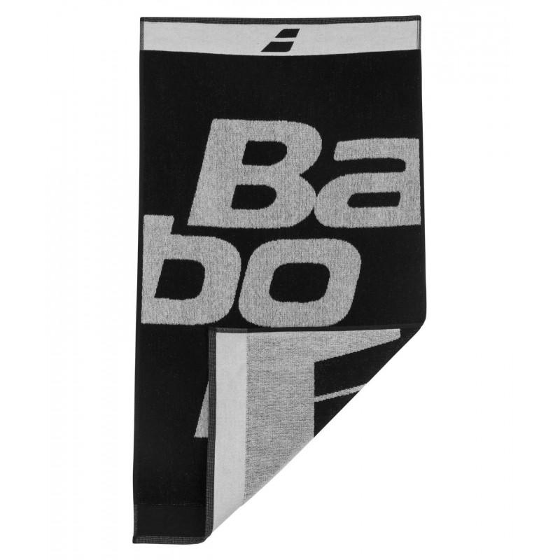 Ręcznik Babolat MEDIUM, czarno-biały
