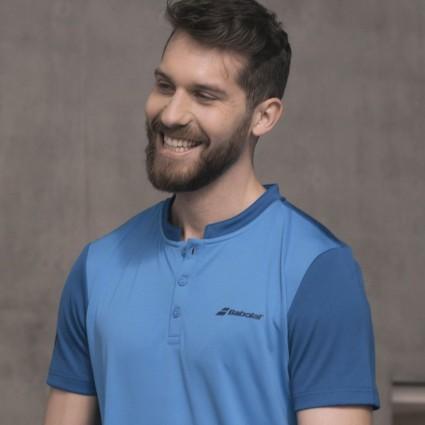 Polo Babolat PLAY M, niebieski