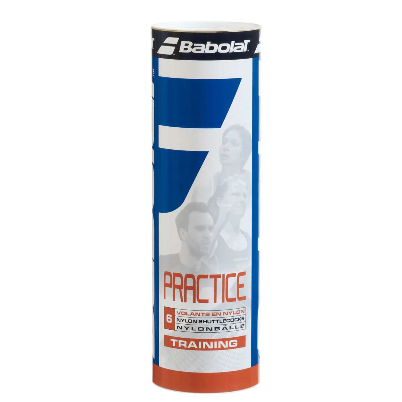Lotki nylonowe Babolat Practice x6