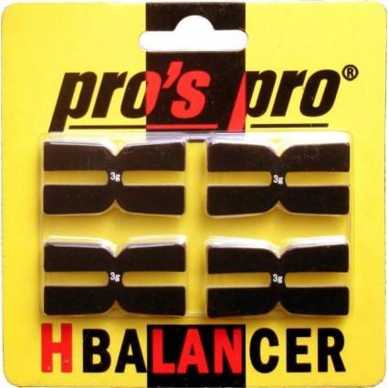 H- Balancer PP x4 czarny