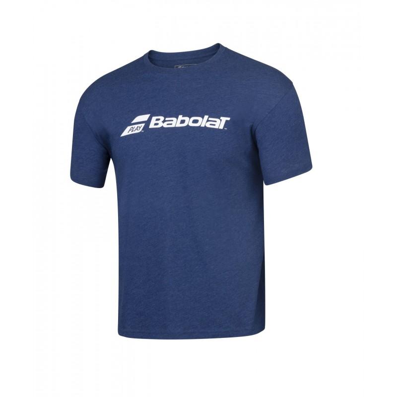 T-shirt Babolat EXERCISE Boy, granatowy