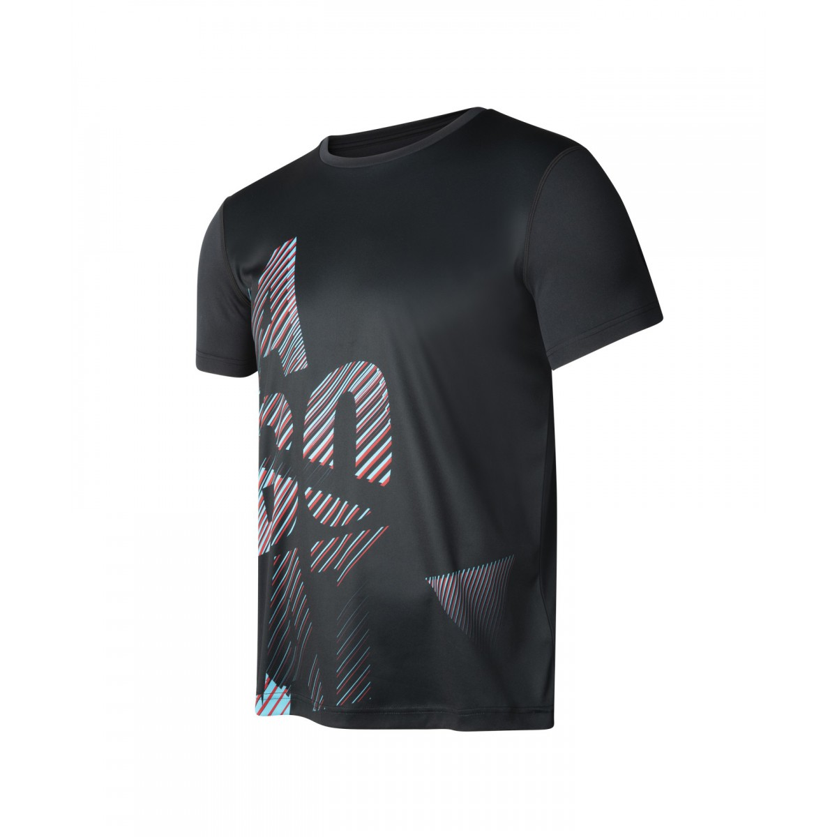 T-shirt Babolat EXERCISE BIG B M, czarny
