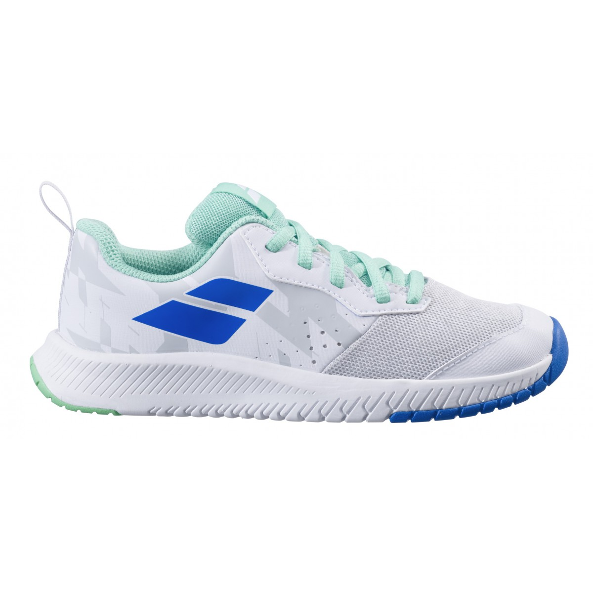 Babolat Pulsion AC Jr, White/Biscay...