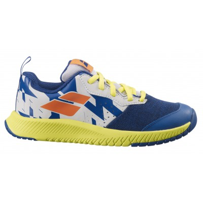 Babolat Pulsion AC Jr, Dark Blue/Sulphur Spring