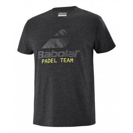 Koszulka Babolat PADEL M, ciemnoszary