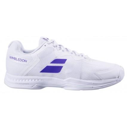Babolat SFX3 AC Wimbledon, White/Purple