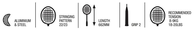 Technologie w rakiecie Babolat Speedlighter
