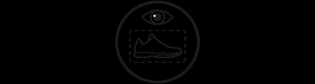 Przezroczysta komora na buty