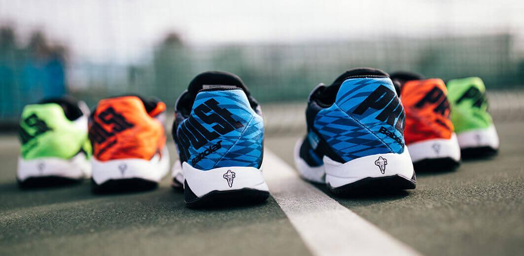 Buty Babolat z podeszwąprzygotowanąwe współpracy z czołowym producentem opon - Michelin