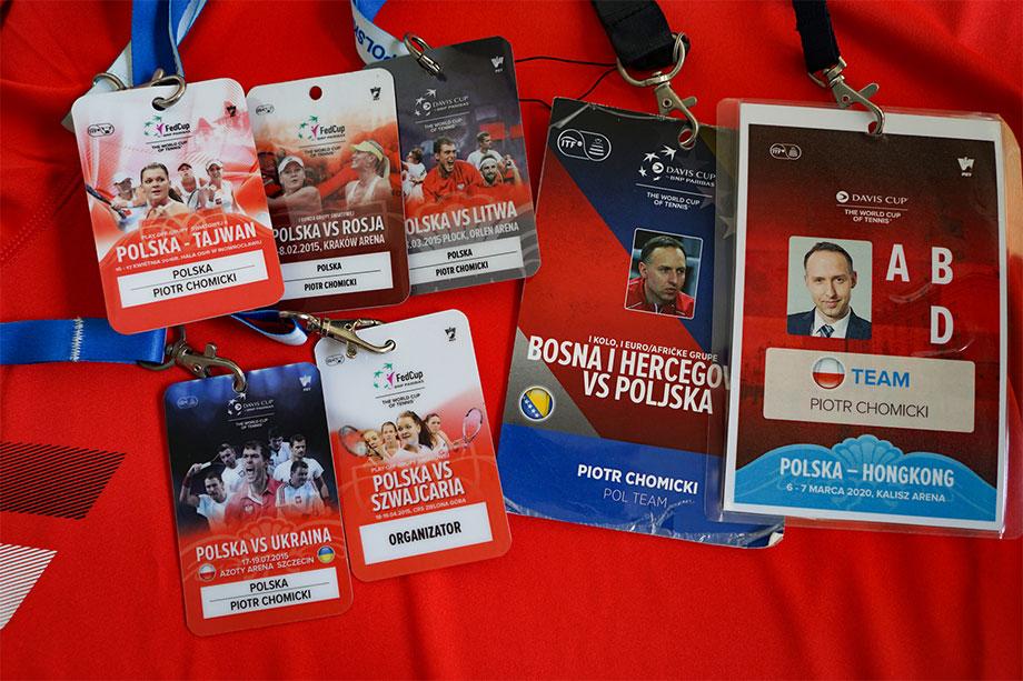 Piotr Chomicki jest serwisantem reprezentacji Polski od 2015 roku