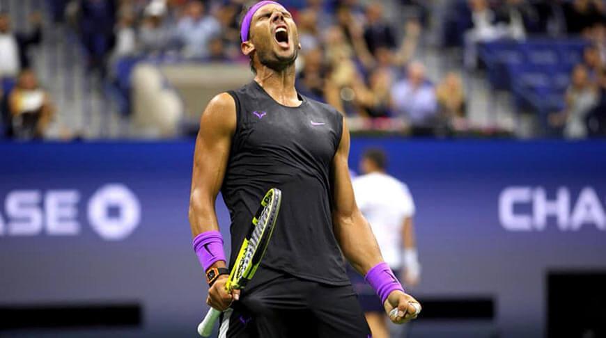 Rafael Nadal gra rakietą o ciężarze 316 gramów (stan na 2019 rok)